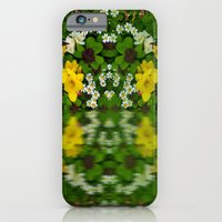 Summer Flowers Reflect iPhone 6 Slim Case