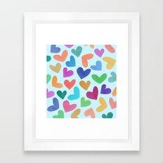 Lovely Pattern III Framed Art Print