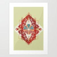abstrkt placement Art Print