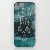Let's Run Away - Ocean Waves iPhone 6 Slim Case