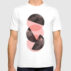 Cir Mens Fitted Tee SMALL White