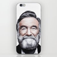 A tribute to Robin Williams iPhone & iPod Skin