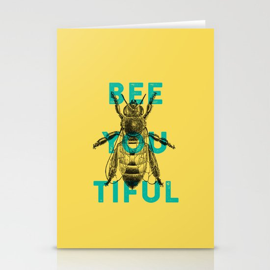 Bee-you-tiful Stationery Card