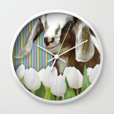 In search of dessert Wall Clock