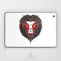 Black Lion Laptop & iPad Skin