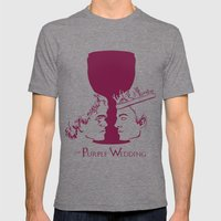 The Purple Wedding Mens Fitted Tee Tri-Grey SMALL