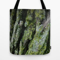 moss, bark Tote Bag