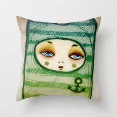 Sea Soul Throw Pillow