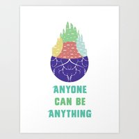 Zootopia - Anyone Can Do Anything Art Print