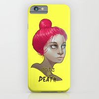 iPhone & iPod Case featuring date or death by AdiFish