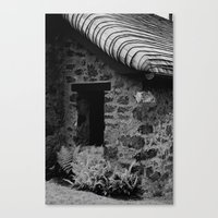 Fern Cottage Canvas Print