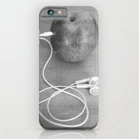 iPhone Cases featuring wrong apple by Bianca Green