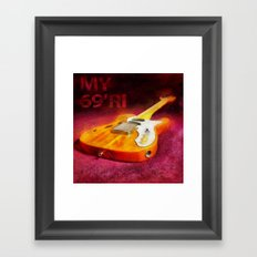 The THINLINE Between Us - Telecaster '69 Ri  Framed Art Print