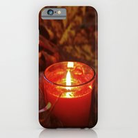 iPhone & iPod Case featuring Autumn candlelight  by Vorona Photography