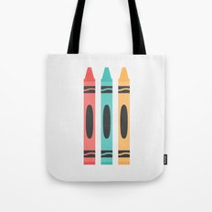 #94 Crayon Tote Bag
