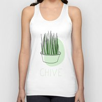 Chive Unisex Tank Top