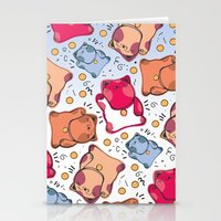 Cute catty Stationery Cards
