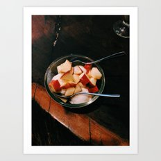 Apple Fro-Yo Art Print