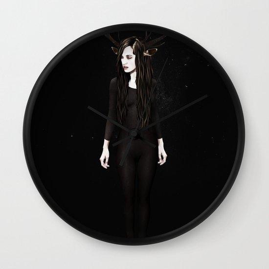 Abigail Night Wall Clock