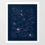 Star Ships Art Print
