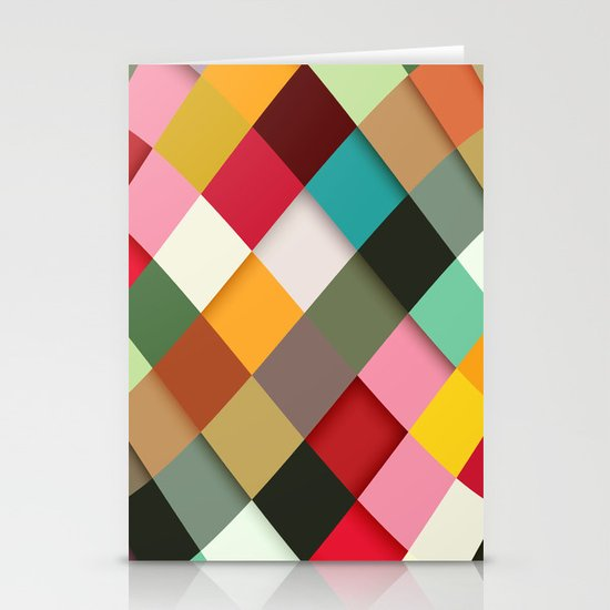 Colorful Stationery Card