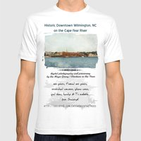 Wilmington, NC On The Ca… Mens Fitted Tee White SMALL