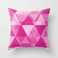 BUBBLEGUM Throw Pillow
