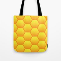 Honeycombs Tote Bag