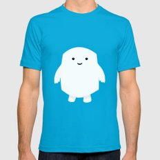 Doctor Who Adipose Mens Fitted Tee Teal SMALL