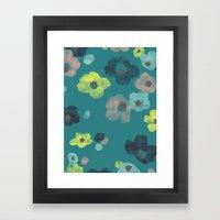 Watercolor Blooms - In T… Framed Art Print