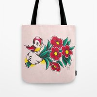 Micktorian Hand Whimsy Tote Bag