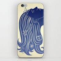 Let your hair down... iPhone & iPod Skin