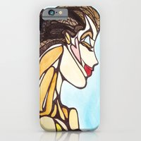 Woman in Blue iPhone 6 Slim Case