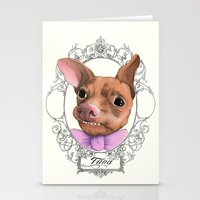 Chihuahua - Tuna  Stationery Cards