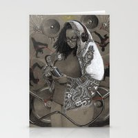 Holy Mother Of HipHop Bl… Stationery Cards