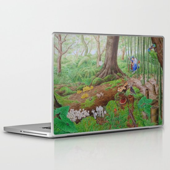 A Day of Forest (5). (dead wood ecosystem) Laptop & iPad Skin