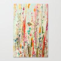 This Strange Feeling Of … Canvas Print