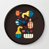 Autumn Gourds Wall Clock