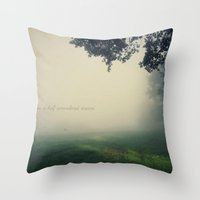 In A Half Remembered Dre… Throw Pillow