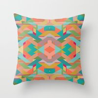 Aztek Throw Pillow