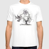 The Kiss Mens Fitted Tee White SMALL
