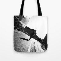 Berlin street photography black white Tote Bag