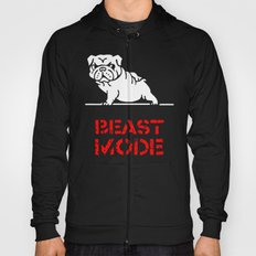 Beast Mode English Bulldog Hoody