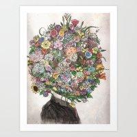 Encompasseed Art Print