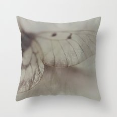 Papery Throw Pillow