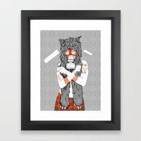 Lady of the Wild Framed Art Print
