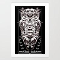 Nocturnal Elegance Art Print