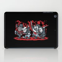 Where the Slashers Are (Grayscale) iPad Case