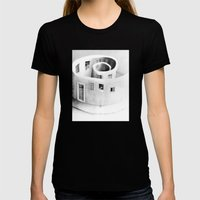 Windows of Perception Womens Fitted Tee Black SMALL