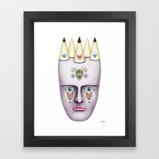 Skulls 2 Framed Art Print